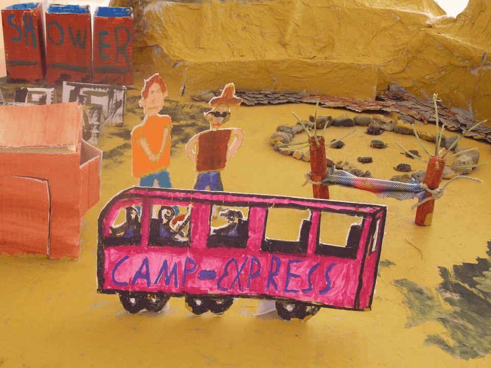 Das Camp Green Lake Kein Lager für Pfadfinderinnen, sondern eine Besserungsanstalt für schwere Jungs