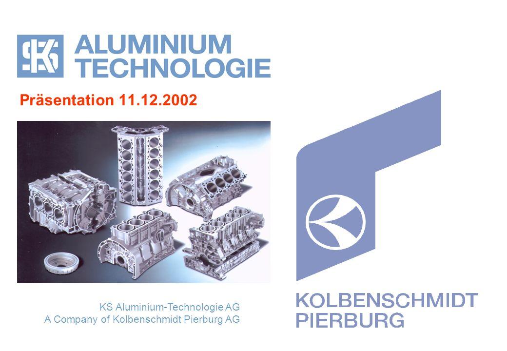 ALUMINIUM TECHNOLOGIE Member of the Kolbenschmidt Pierburg Group 2 Inhalt 1.