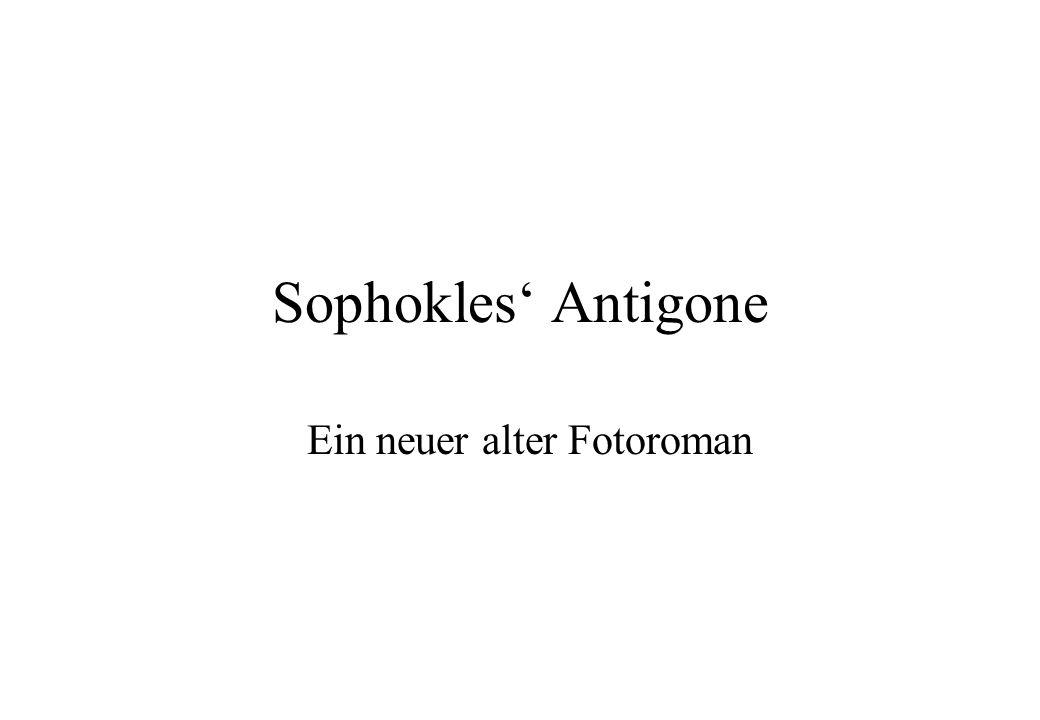 Sophokles Antigone Ein neuer alter Fotoroman