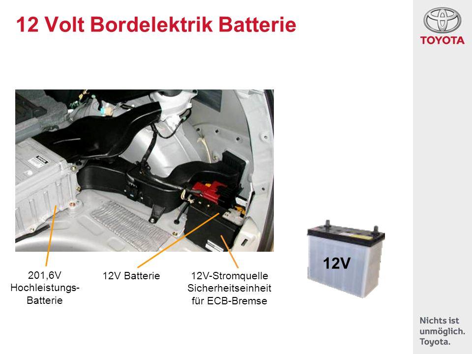 12V Batterie 201,6V Hochleistungs- Batterie 12V-Stromquelle Sicherheitseinheit für ECB-Bremse 12V 12 Volt Bordelektrik Batterie