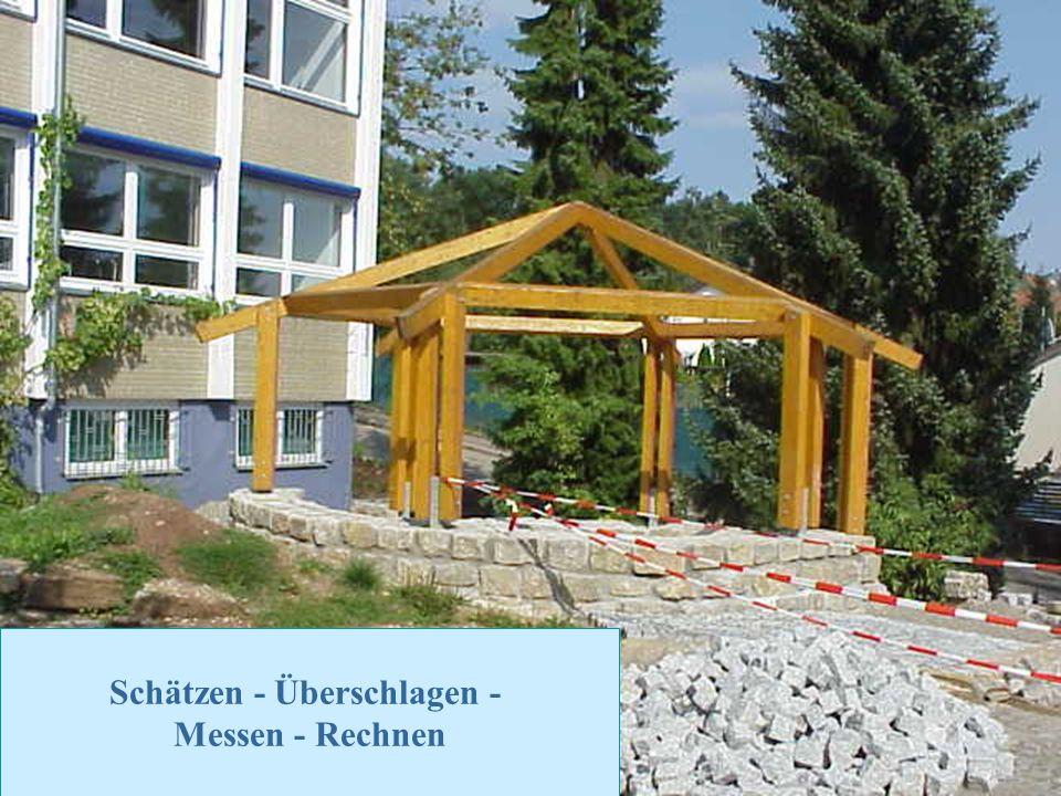 Zurück zur Auswahl Realschule Leinzell - Staatl. Realschulseminar Schwäbisch Gmünd Folie 37 Schätzen - Überschlagen - Messen - Rechnen