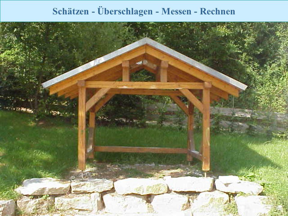 Zurück zur Auswahl Realschule Leinzell - Staatl. Realschulseminar Schwäbisch Gmünd Folie 38 Schätzen - Überschlagen - Messen - Rechnen