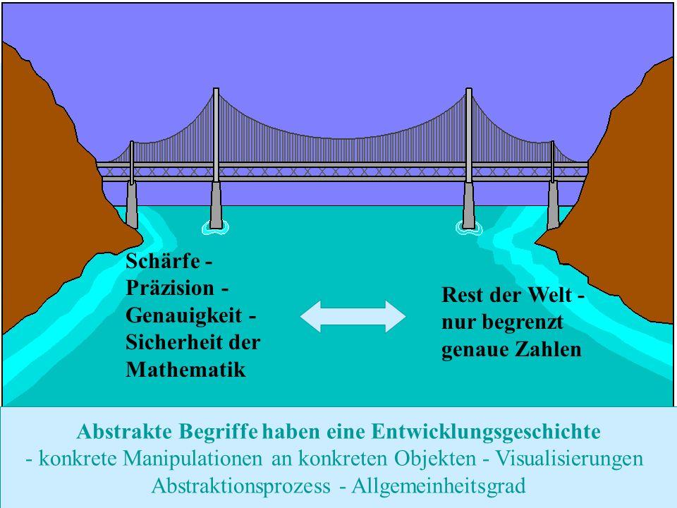 Zurück zur Auswahl Realschule Leinzell - Staatl. Realschulseminar Schwäbisch Gmünd Folie 45 Schärfe - Präzision - Genauigkeit - Sicherheit der Mathema