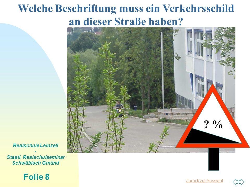 Zurück zur Auswahl Realschule Leinzell - Staatl. Realschulseminar Schwäbisch Gmünd Folie 19