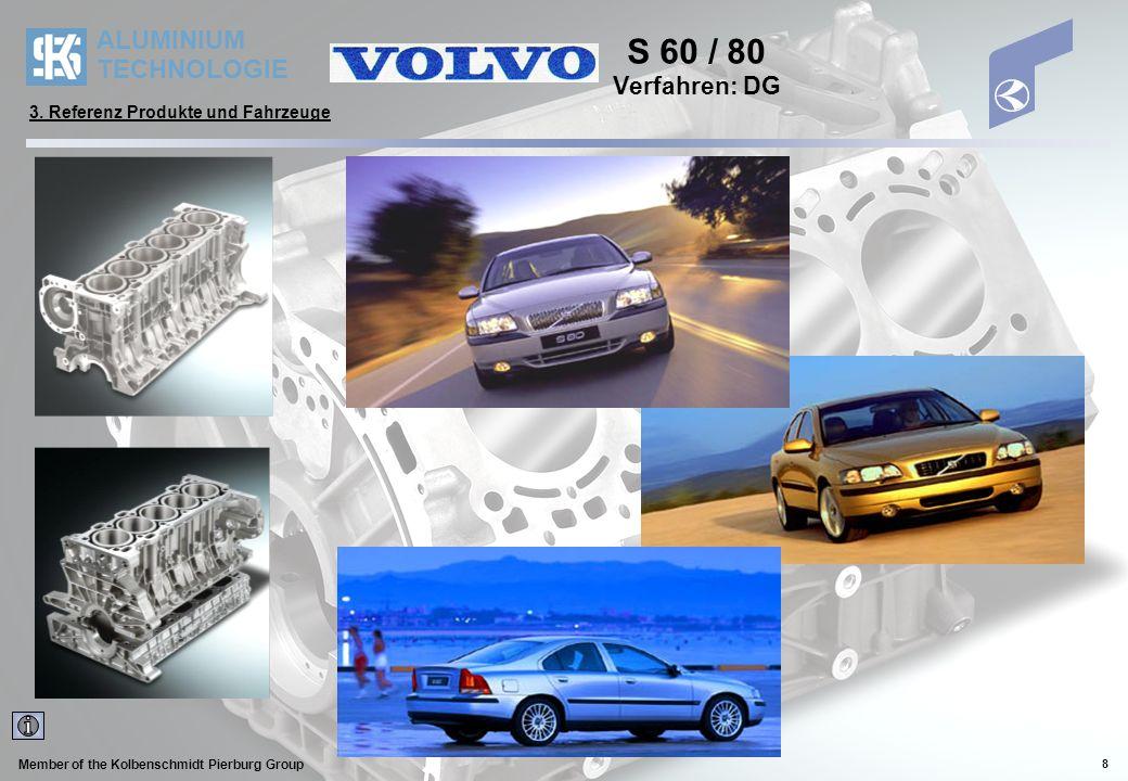 ALUMINIUM TECHNOLOGIE Member of the Kolbenschmidt Pierburg Group 9 Benziner A140 / A160 / A190 1,4 Literversion mit 60 kW/ 82 PS bei 5.000 U/min 1,6 Literversion mit 75 kW/102 PS bei 5.250 U/min 1,9 Literversion mit 92 kW/125 PS bei 5.500 U/min Diesel A160 CDI / A170 CDI 1,6 Literversion mit 55 kW/75 PS 1,7 Literversion mit 70 kW/90 PS DaimlerChrysler A-Klasse Verfahren: DG 3.