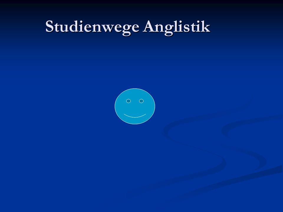 Studienwege Anglistik