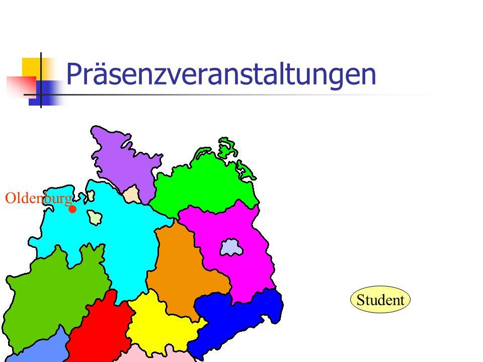 Präsenzveranstaltungen Oldenburg Student