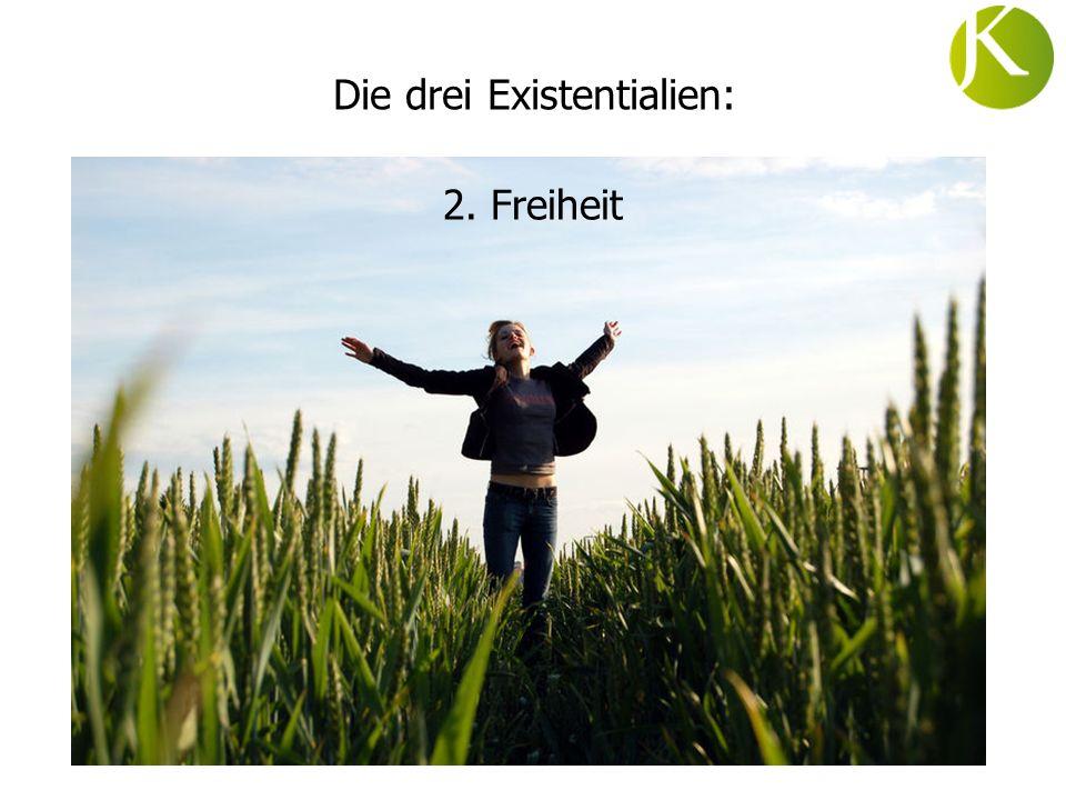 Die drei Existentialien: 2. Freiheit