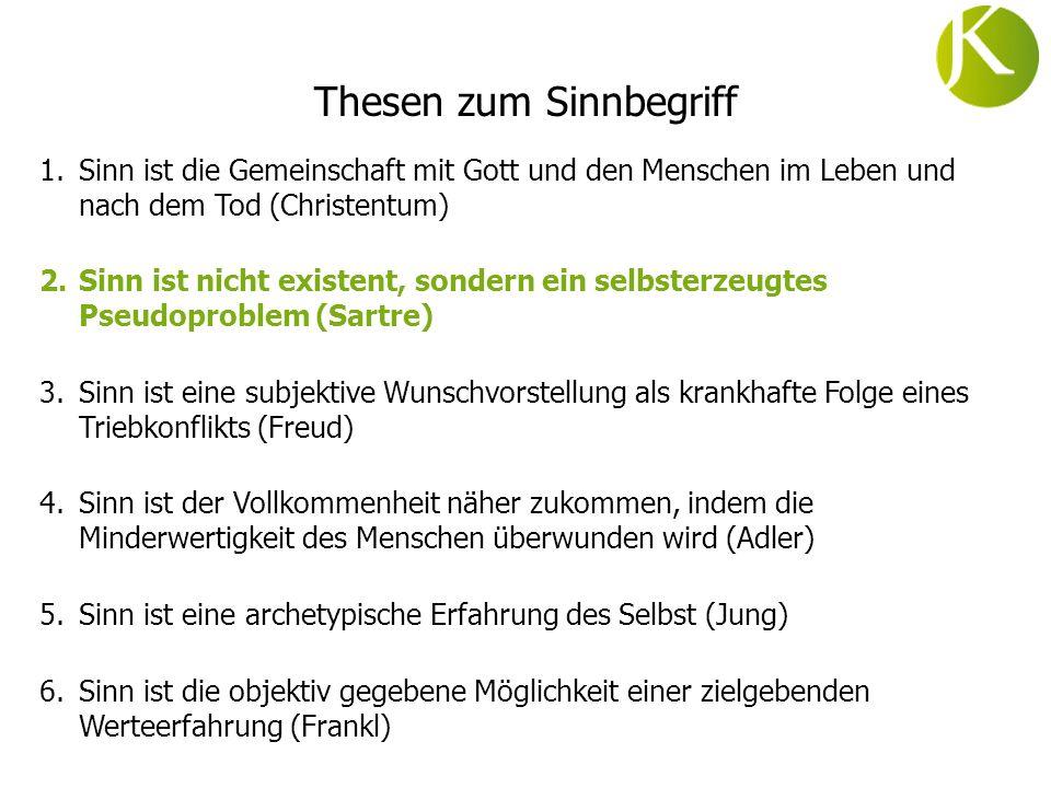 Existenzialismus...la vie na pas des sens, a priori.