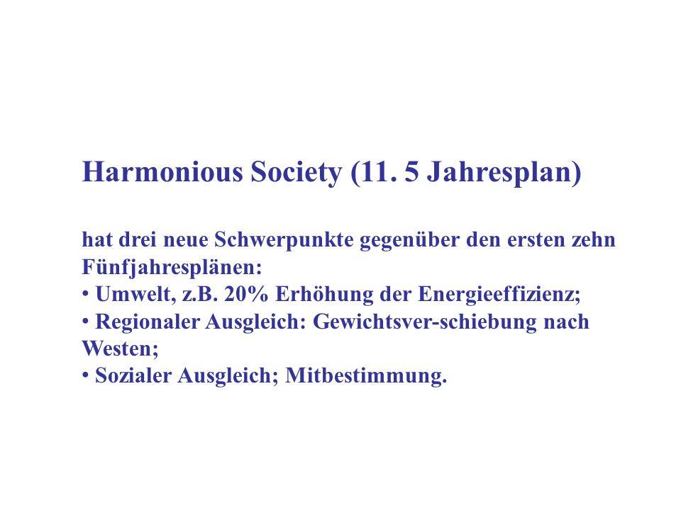 Harmonious Society (11.