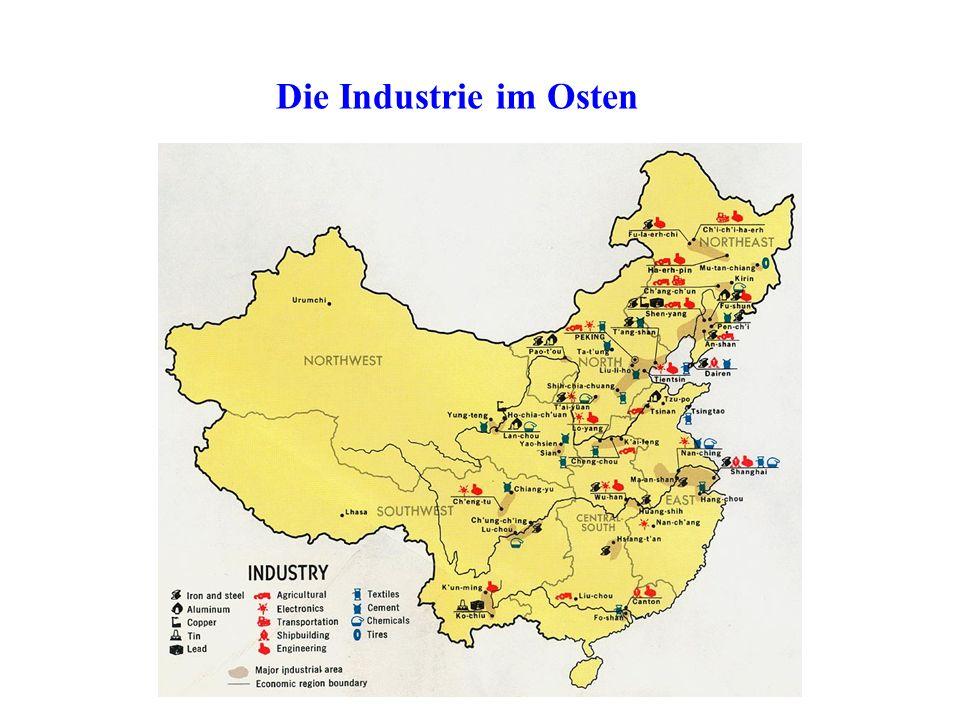 Die Industrie im Osten