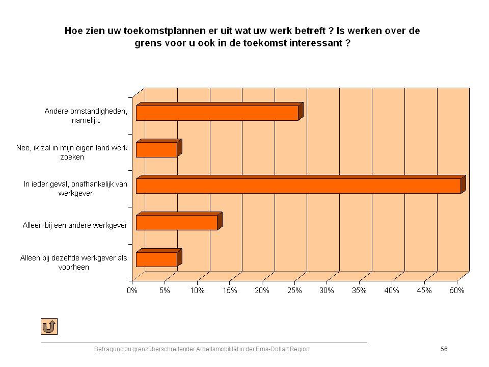 Befragung zu grenzüberschreitender Arbeitsmobilität in der Ems-Dollart Region56