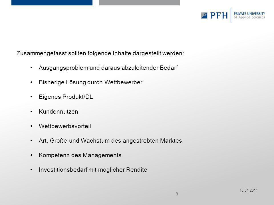 Seite 5 Hier ist Platz für den Namen des Referenten, Semesterangaben, Studienfach etc. Zusammengefasst sollten folgende Inhalte dargestellt werden: Au