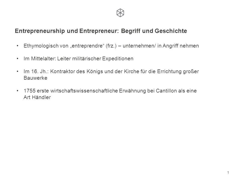 Jahrestagung der Deutschen Gesellschaft für ökonomische Bildung 2011 Dr. Mark Euler: Born or made entrepreneurs - Kann Entrepreneurship gelehrt werden