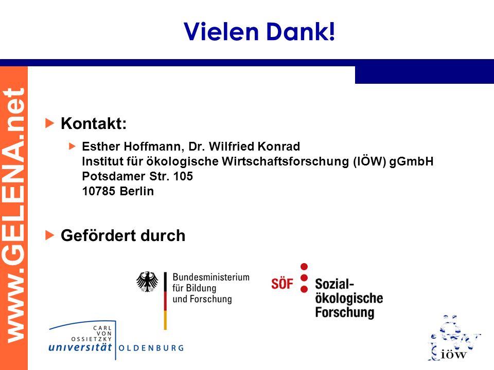 www.GELENA.net Vielen Dank. Kontakt: Esther Hoffmann, Dr.