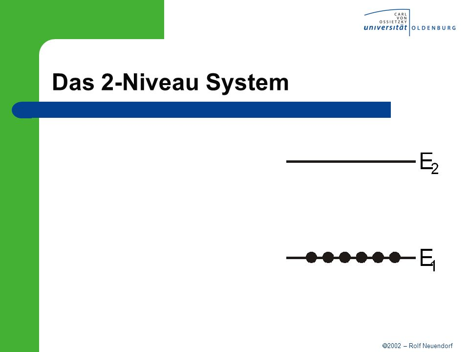 2002 – Rolf Neuendorf Das 2-Niveau System