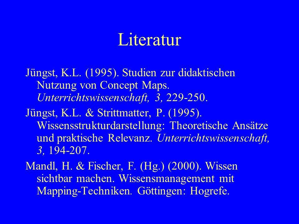 Didaktische Folgerungen nach Bernd u.a.(2000) Für Lehrende hinsichtl.
