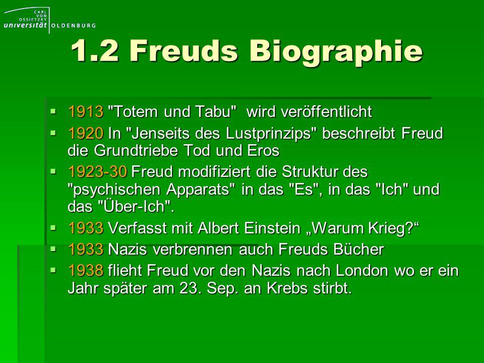 1.2 Freuds Biographie 1913