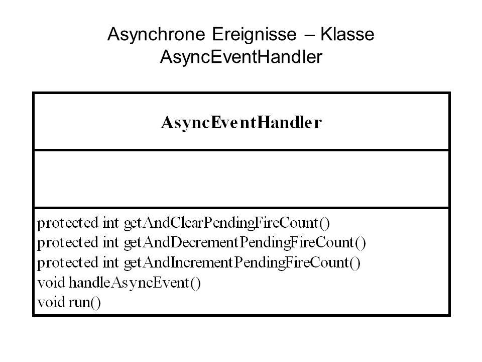 Asynchrone Ereignisse – Klasse AsyncEventHandler