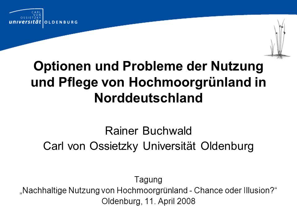 Historische Entwicklung einiger bedeutender Nutzungen der Moore in Deutschland.