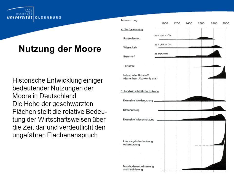 Moore in Zahlen In Deutschland gibt es ca.