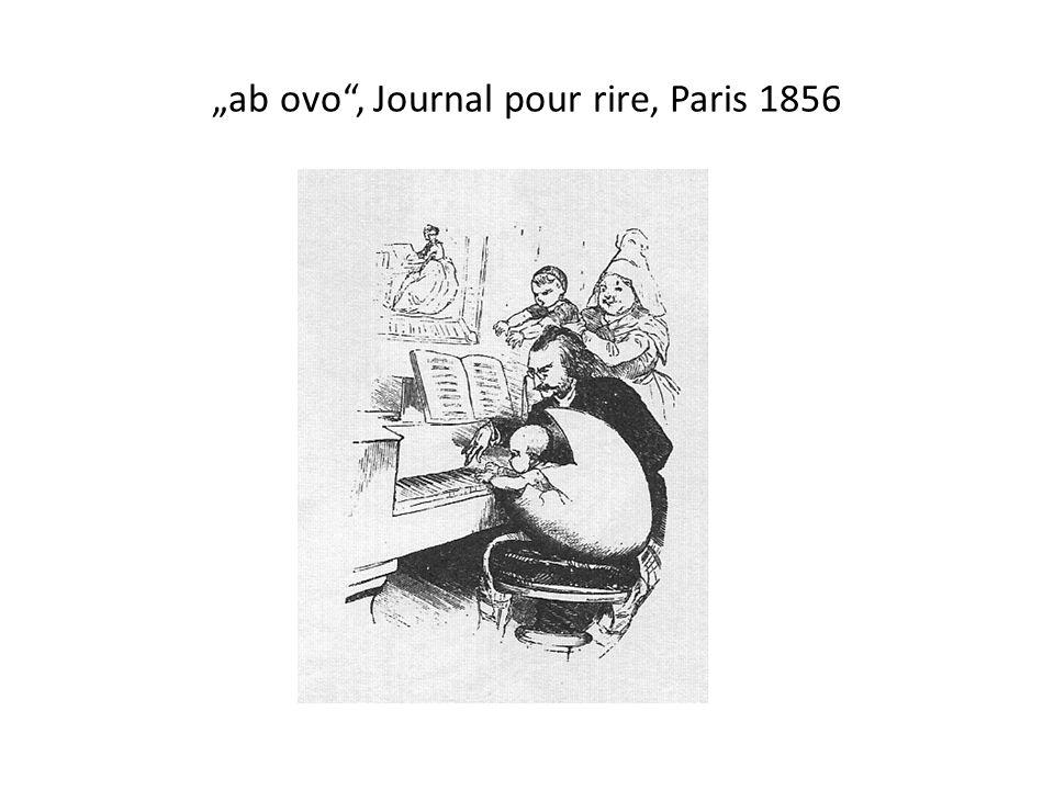 ab ovo, Journal pour rire, Paris 1856