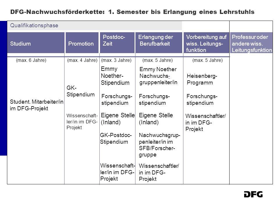 Emmy Noether-Programm - auf der Überholspur zur Professur Wer.