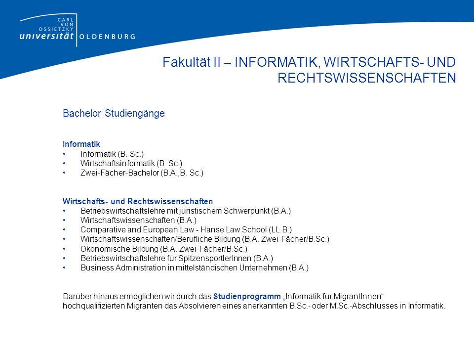 Studium & Lehre Studium und Lehre an der Carl von Ossietzky Universität haben sich seit Einführung modularisierter Studiengänge in der neuen Bachelor-/Master-Struktur deutlich verändert.