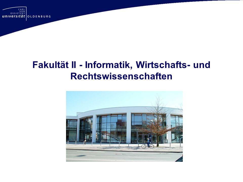 Fakultät II - Informatik, Wirtschafts- und Rechtswissenschaften