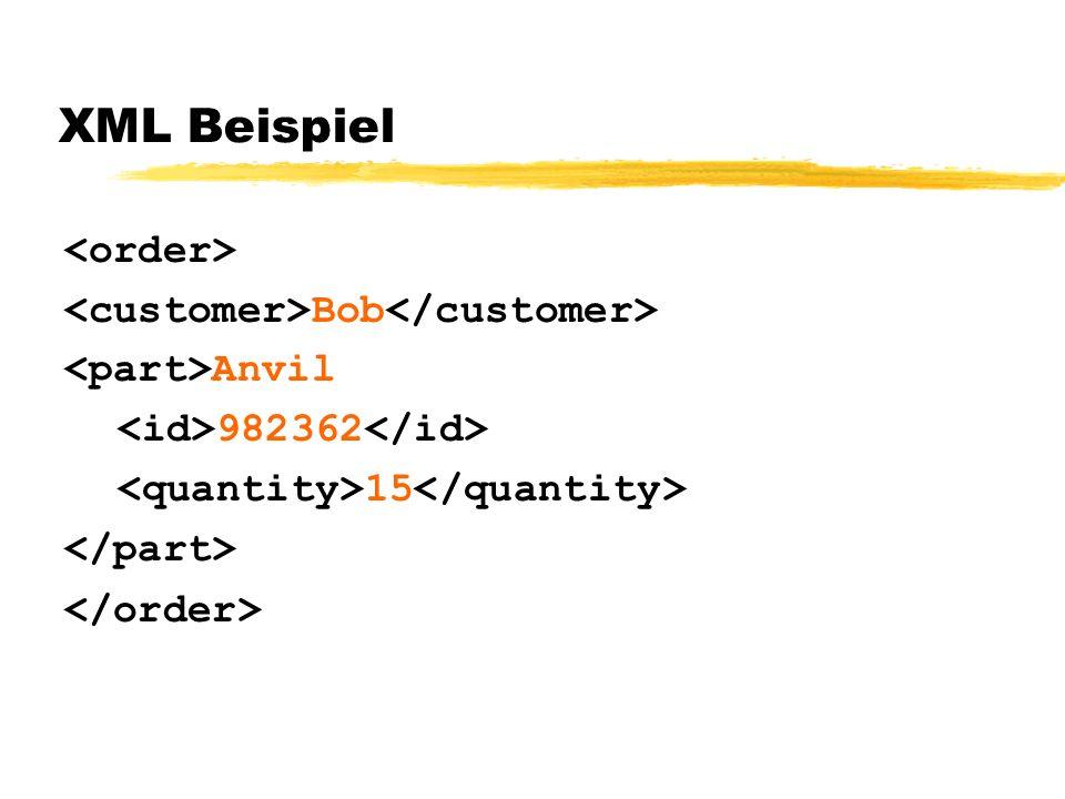 XML Beispiel Bob Anvil 982362 15