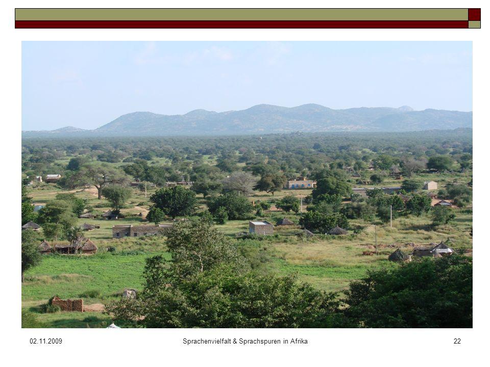 02.11.2009Sprachenvielfalt & Sprachspuren in Afrika22