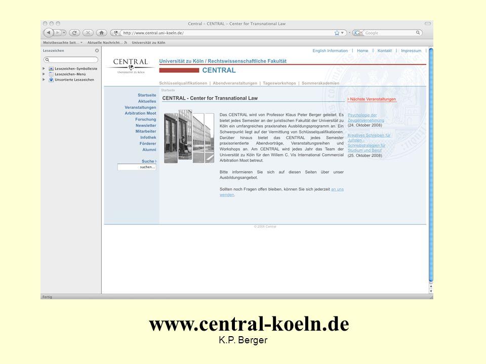 K.P. Berger www.central-koeln.de