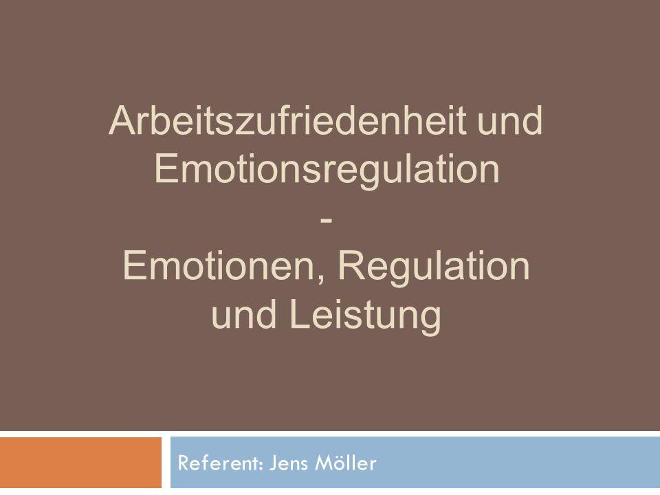 12/18 Emotionen, Regulation und Leistung Zusätzlich: - Wiederaufwertung durch Auffrischung in der Freizeit oder Urlaubstage - ebenfalls Beeinflussung der Mittel ÜberblickEinführungModellModellanwendungFazit/Diskussion
