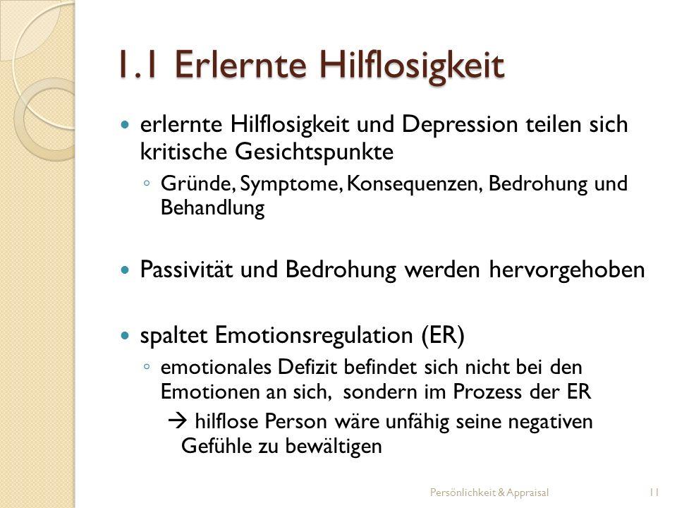 erlernte Hilflosigkeit und Depression teilen sich kritische Gesichtspunkte Gründe, Symptome, Konsequenzen, Bedrohung und Behandlung Passivität und Bed