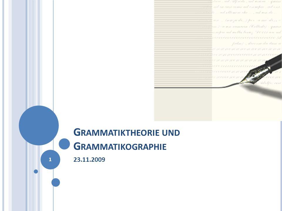 G IOVAN G IORGIO T RISSINO (1478-1550) Einflüsse Die spätantiken Grammatiker Donatus und Priscianus lateinische Terminologie, aber mit terminologischen Innovationen, z.B.