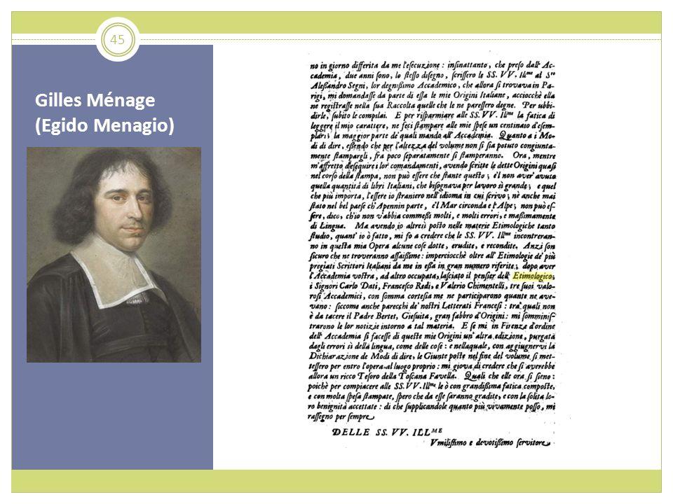 Gilles Ménage (Egido Menagio) 45