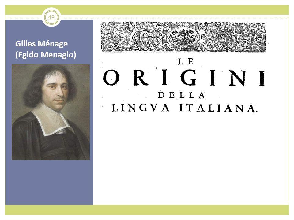 Gilles Ménage (Egido Menagio) 49