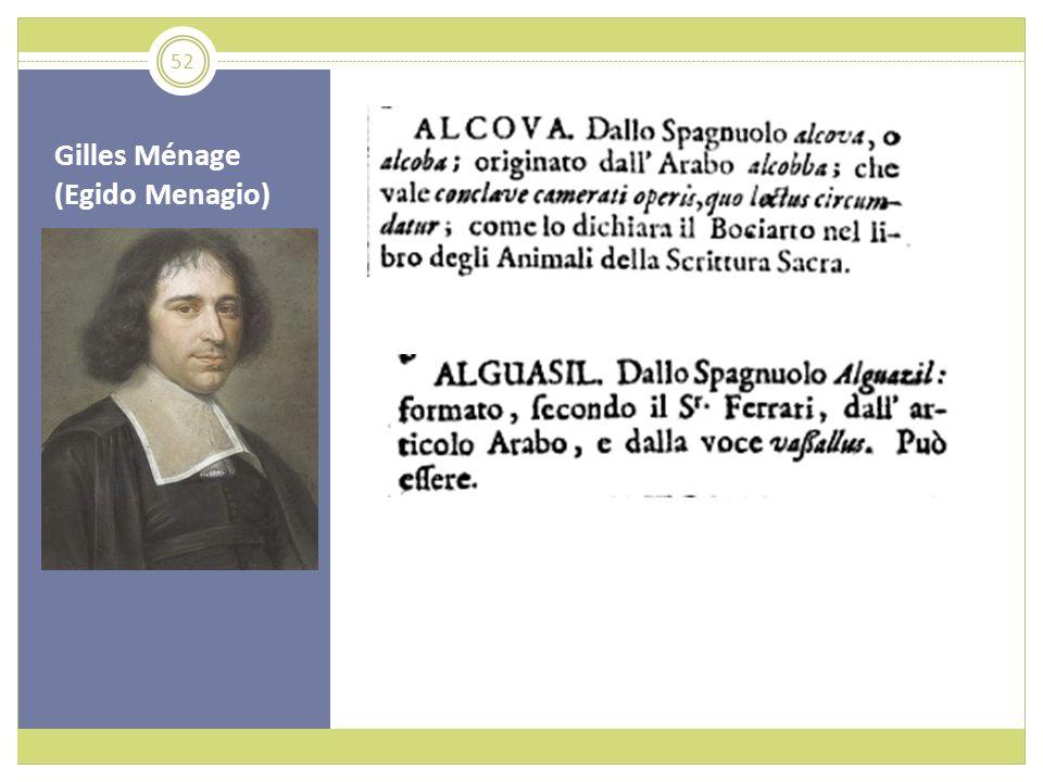 Gilles Ménage (Egido Menagio) 52