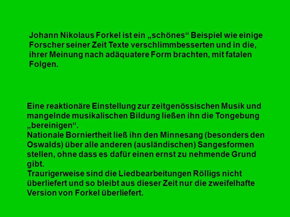 Textausgabe und Musikausgabe Die endgültige Edition der wolkensteinschen Gesamtausgabe in Denkmal d.T.i.Ö.