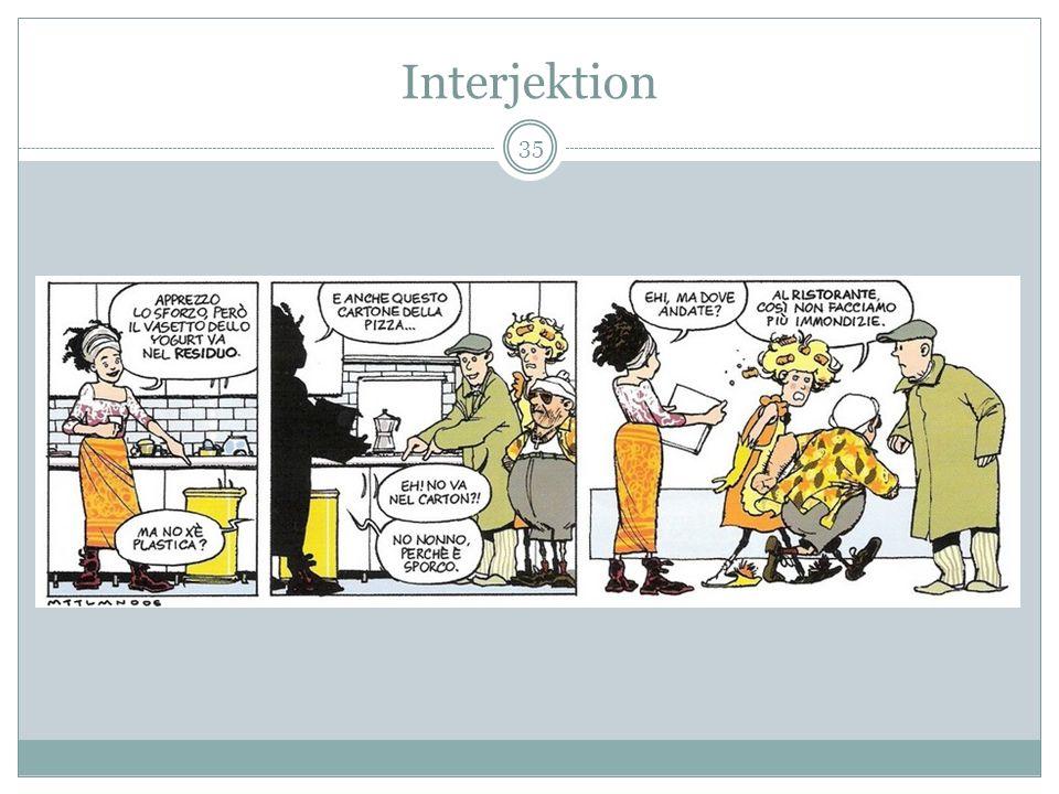 Interjektion 35