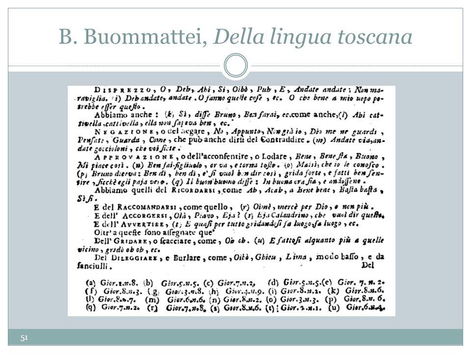 B. Buommattei, Della lingua toscana 51