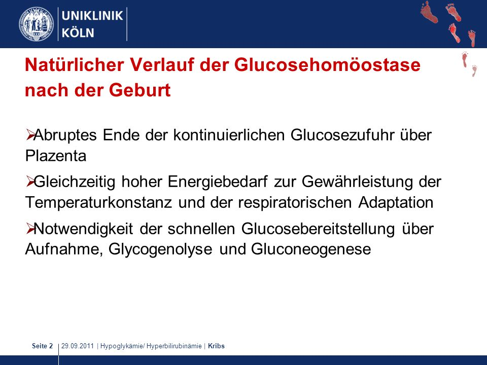 29.09.2011 | Hypoglykämie/ Hyperbilirubinämie | KribsSeite 33 Breast- feeding: A Commentary by the ESPGHAN Commitee on Nutrition J Pediatr Gastroenterol Nutr.