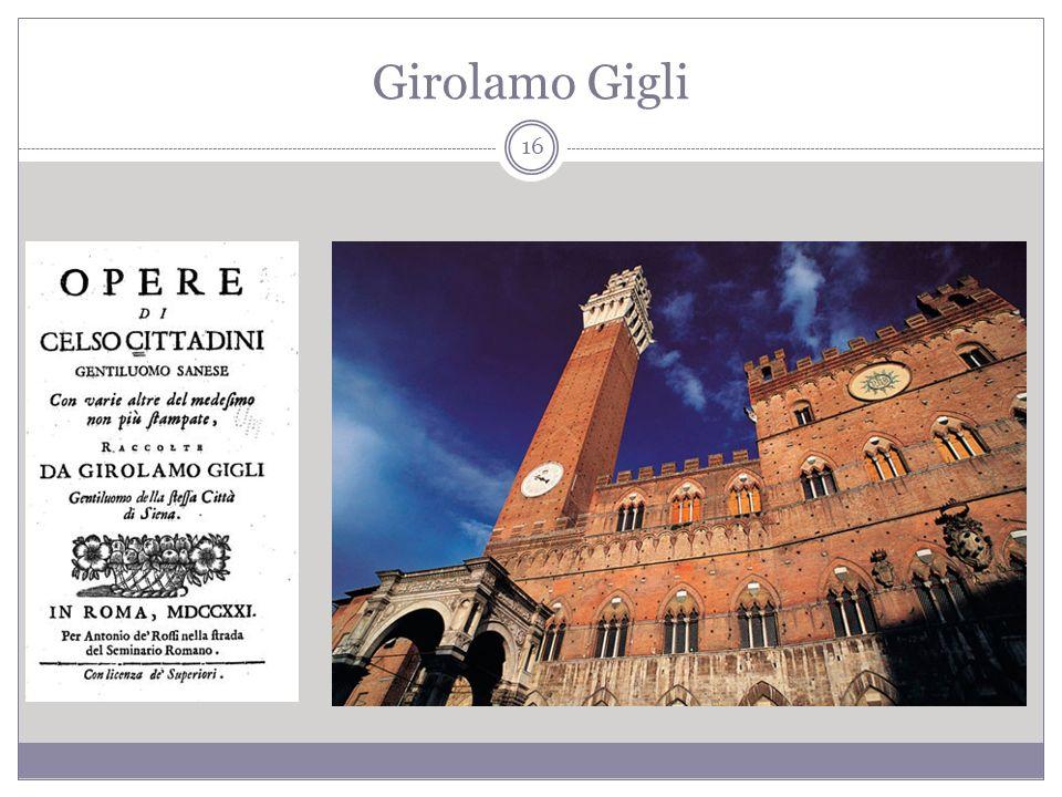 Girolamo Gigli 16