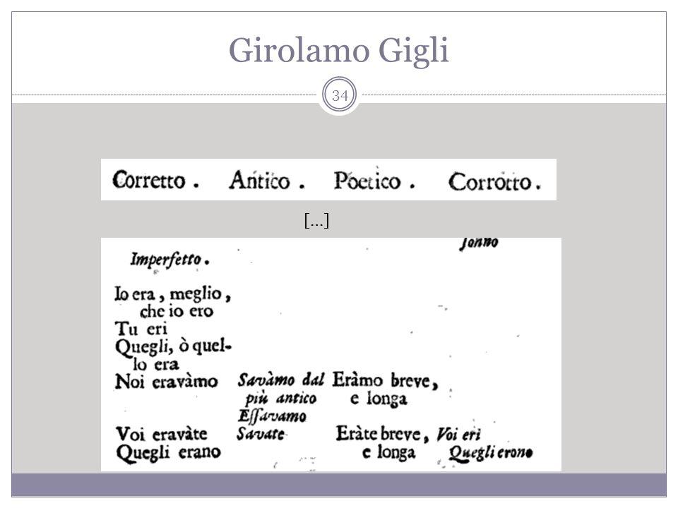 Girolamo Gigli […] 34