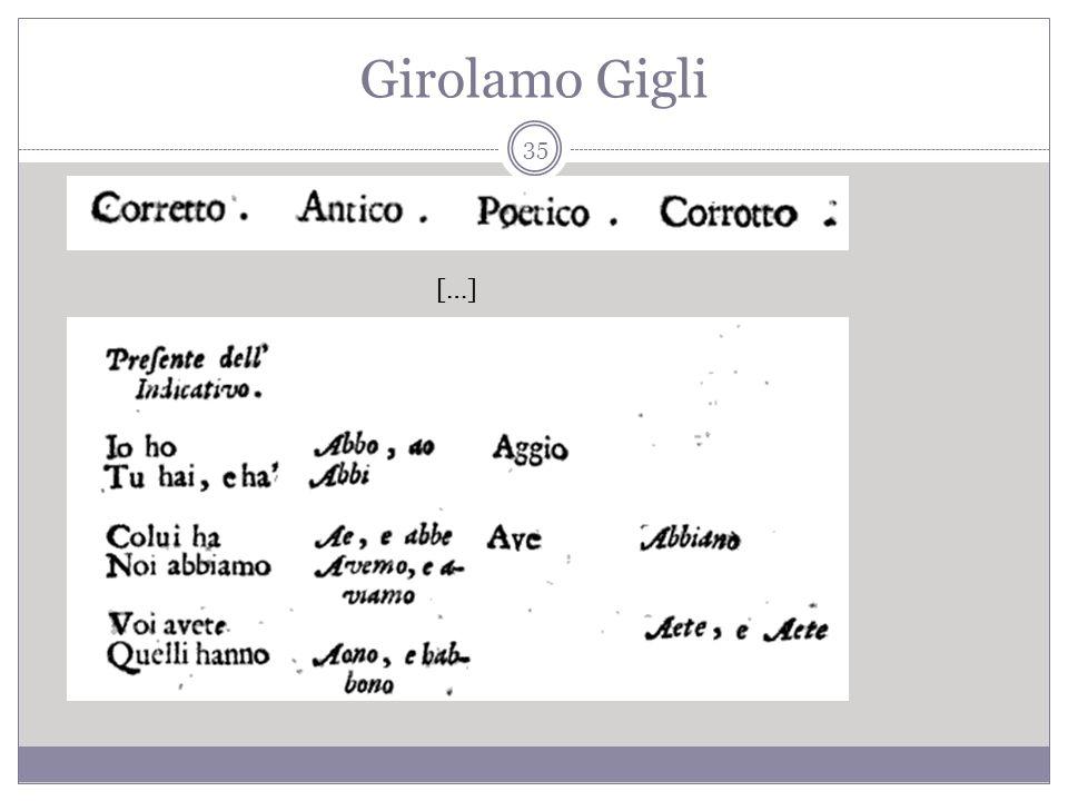 Girolamo Gigli […] 35