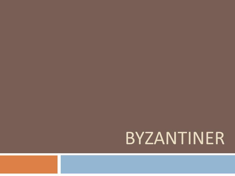 BYZANTINISCHE HERRSCHAFT im Jahr 535: Eroberung durch die Byzantiner(Kaiser Justinian I.) unter byzantinischer Herrschaft wurde Sizilien zu einem zentralen Handelsplatz Hauptstadt Siziliens Syrakus, wo auch von 661 bis 668 Kaiser Konstans der II.