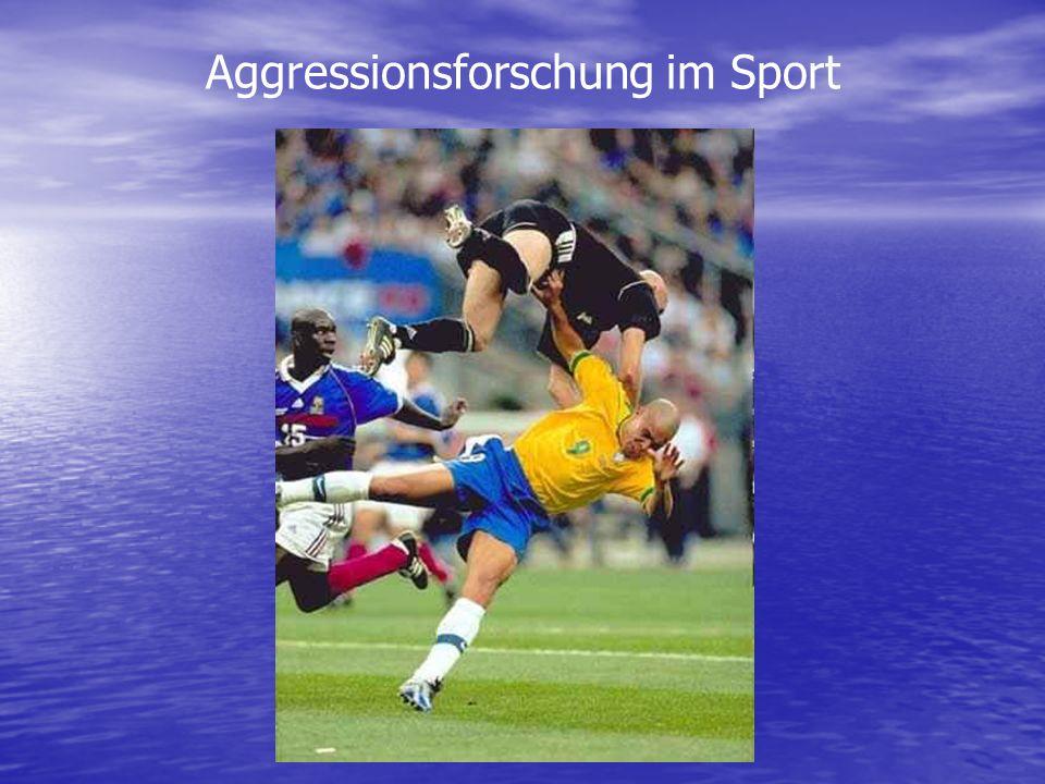 Aggressionsforschung im Sport
