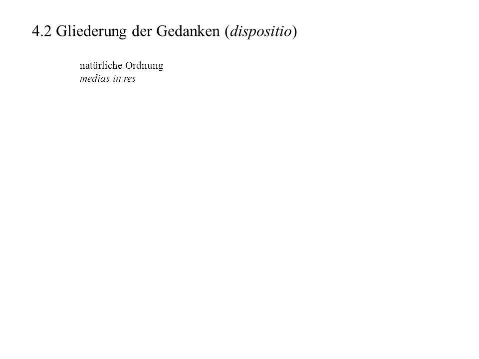 Schulrhetorik II Rhetorik an Herennius (Rhetorica ad Herennium), zw.