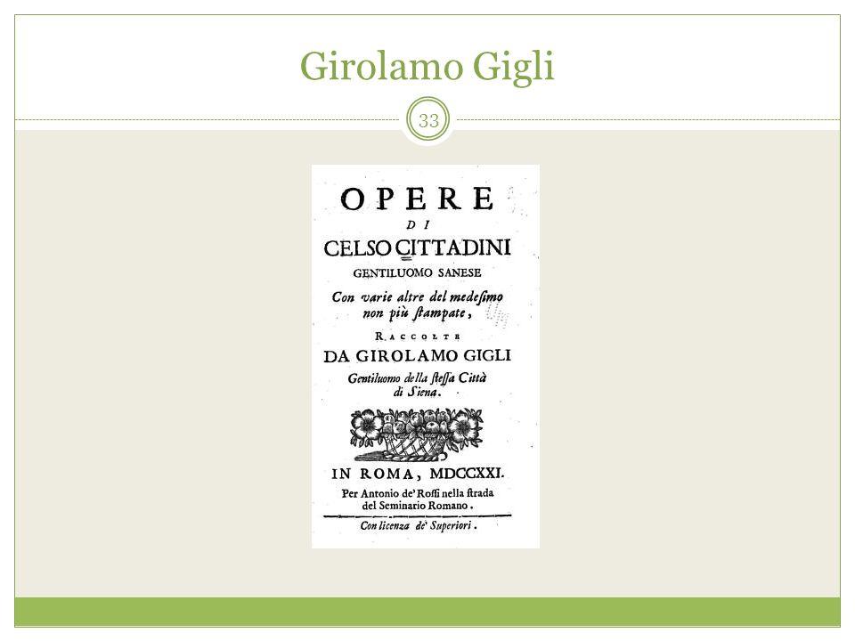 Girolamo Gigli 33