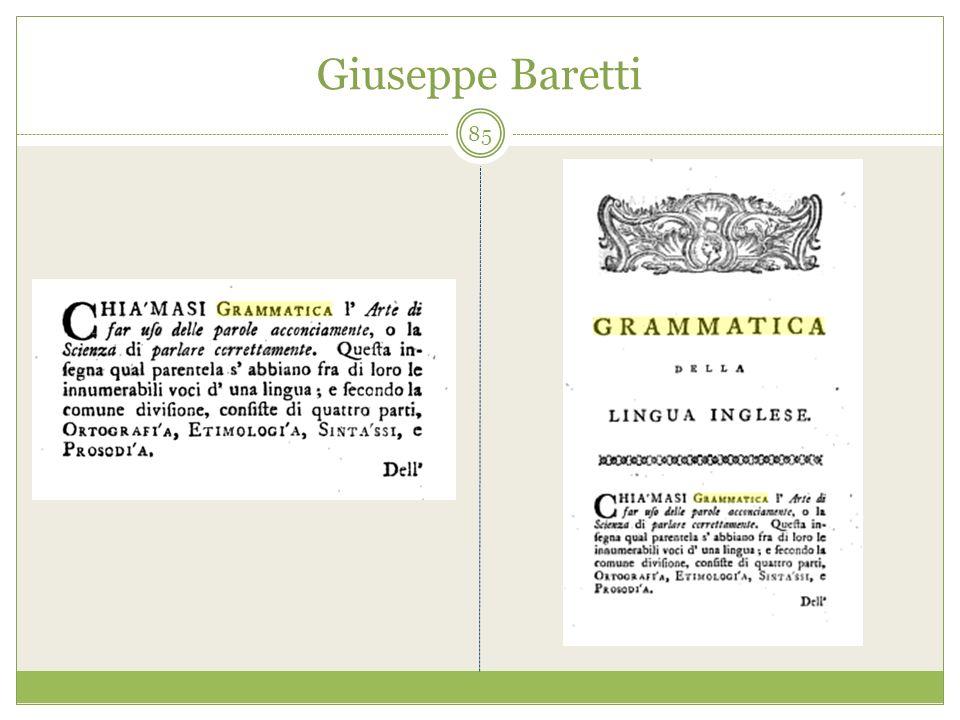 Giuseppe Baretti 85